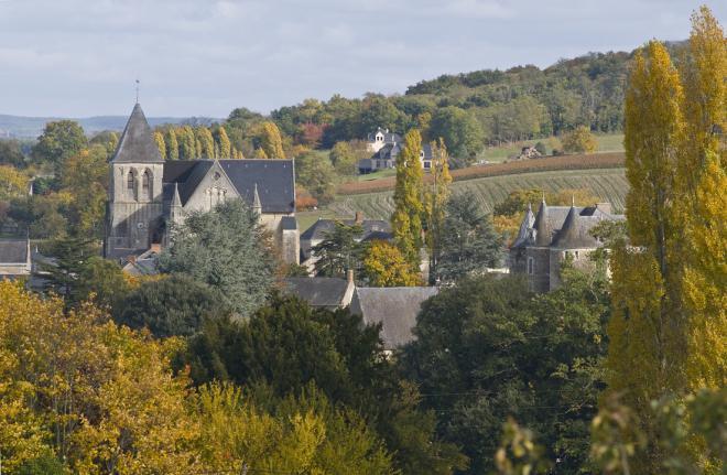 Blaison-Gohier_vue générale © commune de Blaison-Gohier