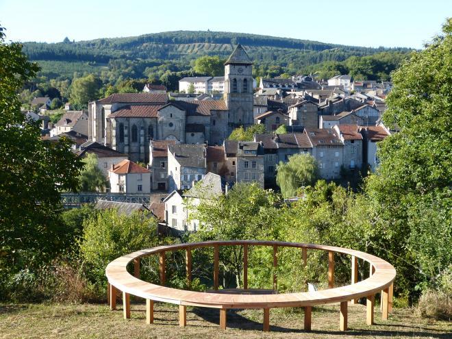 Belvédère Eymoutiers - Crédit photo : Mairie d'Eymoutiers