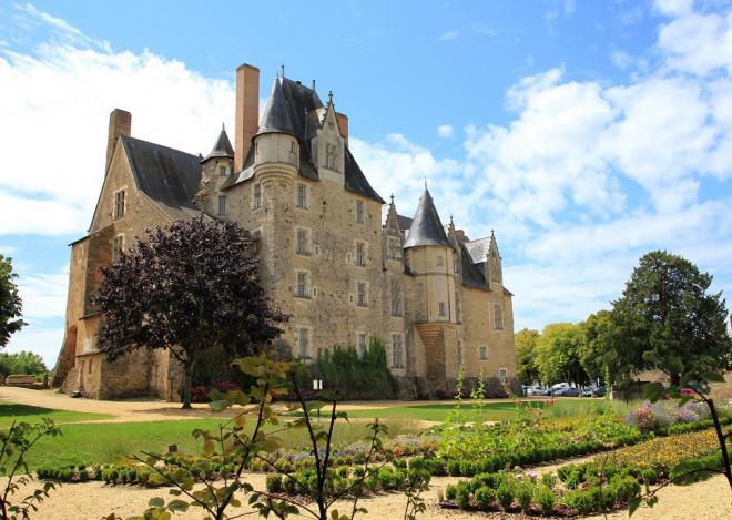 Baugé_façade nord château © Y.Olivier