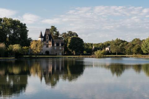L'étang du château de Javarzay