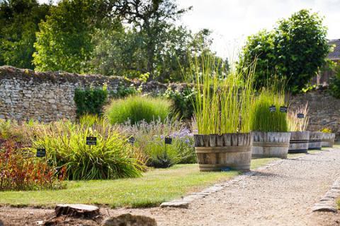 Aubigné_jardin 2_© J.-P. Berlose