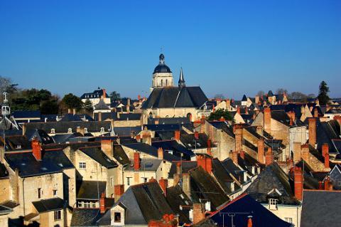Baugé_vue des toits <sup>©</sup> Ville de Baugé