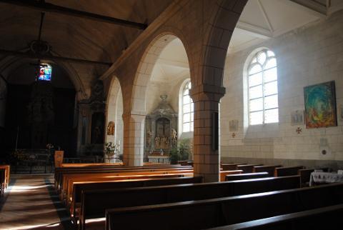 Denée_intérieur de l'église <sup>©</sup>PCC49