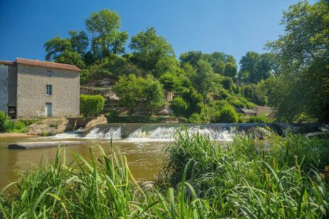 Mallièvre_vue sur la rivière©David Fougere_vendee des iles