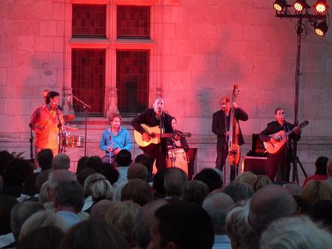 Montsoreau_concert au château <sup>©</sup> Office de Tourisme de Montsoreau
