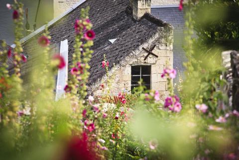 Montsoreau_maison à pan coupé <sup>©</sup>J.-P. Berlose
