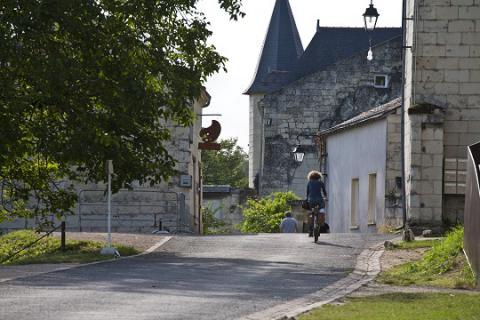Turquant_rue château gaillard <sup>©</sup>J.-P. Berlose