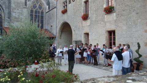 Foussais-Payré_Académie vocale <sup>©</sup>Commune de Foussais-Payré